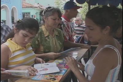 Jornada de la cultura en las calles de la ciudad del yayabo